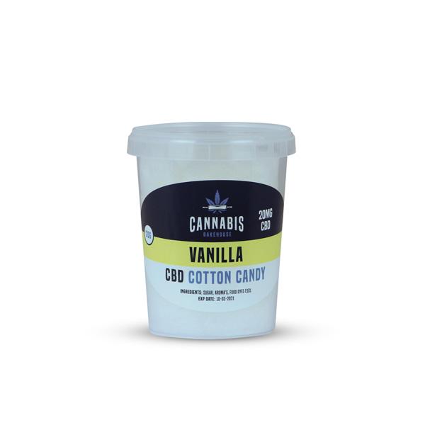 cbd suikerspin vanille